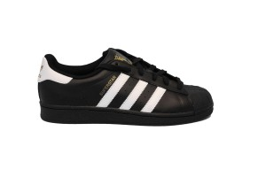ADIDAS SUPERSTAR FOUNDATION - C77154 - Sneakers bassa uomo in pelle