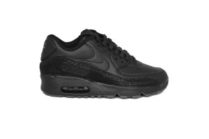 NIKE AIR MAX 90 SE LTR (GS) - 859560-002 - Sneakers bambino bassa in pelle