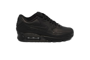 NIKE AIR MAX 90 LEATHER - 302519-001 - Sneakers bassa uomo in pelle