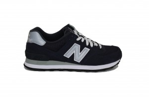 NEW BALANCE -  ML574NN - Sneakers uomo bassa in camoscio