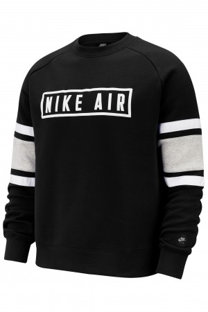 NIKE LONG SLEEVE TOP - BV5156-010 -  Felpa uomo girocollo in felpa