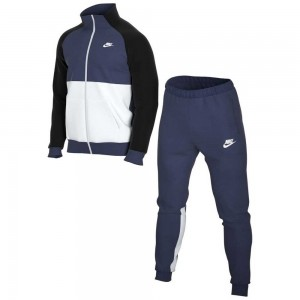 NIKE WARM UP - BV3017-411 - Tuta uomo in felpa con zip