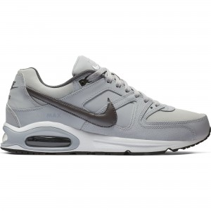 NIKE AIR MAX COMMAND LEATHER - 749760-012 - Snekers bassa uomo in pelle